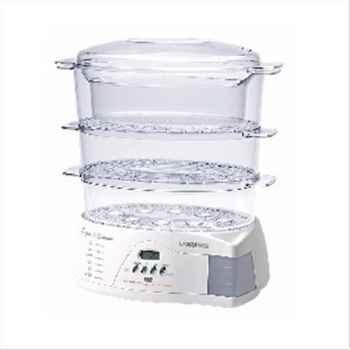 Lagrange cuiseur vapeur 4 bols 900 w blanc - ligne & saveurs 642225
