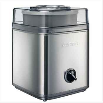 Cuisinart machine à glace 2l alu brosse 610049