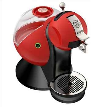 Krups cafetière rouge - dolce gusto melody 679894