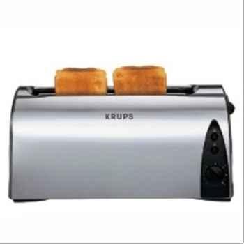 Krups grille-pain inox brossé 680080