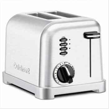 Cuisinart toaster acier brossé 610074