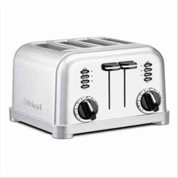 Cuisinart toaster 4 tranches acier brossé 610075