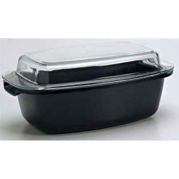 Cocotte rectangulaire 32 cm - coloris noir 259