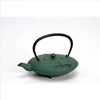 Théière fonte libellule verte 0,6 l 305