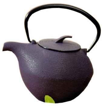 Théière fonte boule violette 0,8 l 307