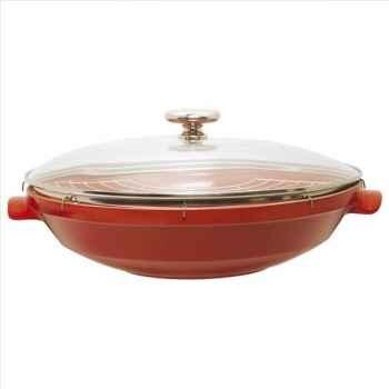 Emile henry wok 37 cm - flame  354