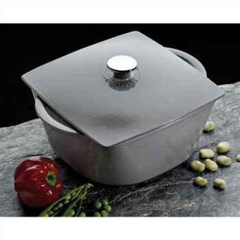 Chasseur cocotte en fonte carronde 3 l - coloris gris 369
