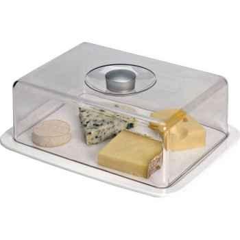 Emsa cloche à fromage 29.5 x 23 cm porcelaine 490
