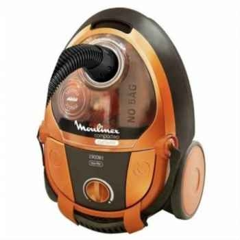 Moulinex aspirateur sans sac compacteo orange 759