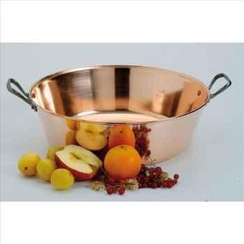 Baumalu bassine à confiture en cuivre lisse 40 cm 840
