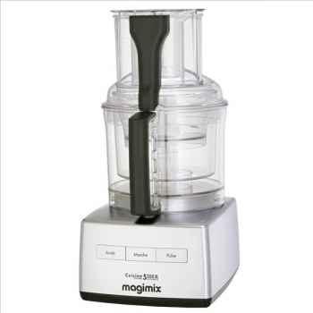 Magimix robot multifonctions chromé mat - cuisine système 5200 xl 907