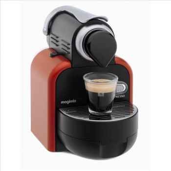 Magimix nespresso automatique m100 rouge glamour 1442
