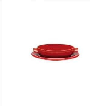 Emile henry mini tatin 21cm rouge - flame 1701