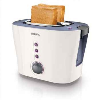 Philips grille-pain toaster 2 fentes lavande fushia 2162