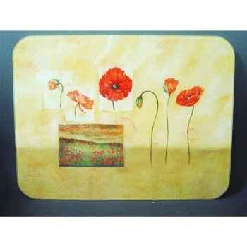 Tuftop planche à découper 51x41 - fleurs 2275
