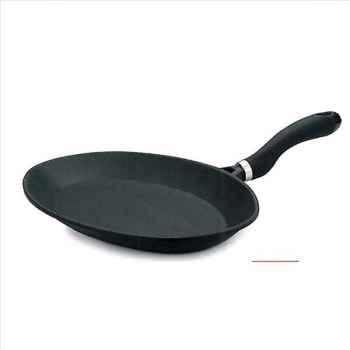 Valira poêle à poisson 41 x 26.5 cm fonte alu - black induction 2309