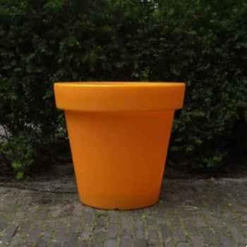 Pot fleur 40 cm Orange