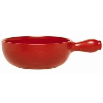 Emile henry caquelon 24 cm rouge - flame 2398