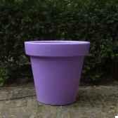 pot fleur 40 cm violet
