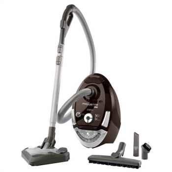 Rowenta aspirateur silence force compact chocolat 3209