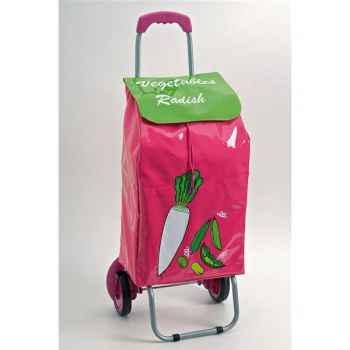 Poussette de marché rose - légumes 2894