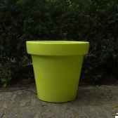 pot fleur 40 cm vert