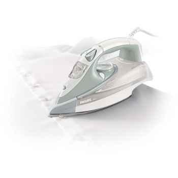 Philips fer à repasser vapeur blanc - azur  3136