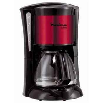 Moulinex cafetière filtre 15 tasses rouge inox - subito 3201