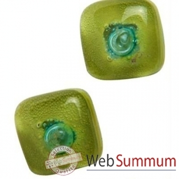 BcommeB-Boucles d'oreilles clous, tige en argent-bobc10w