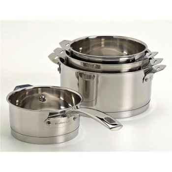 Aubecq série de 4 casseroles - plug & play profile 3297