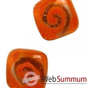 BcommeB-Boucles d'oreilles clous, tige en argent-bobc5w