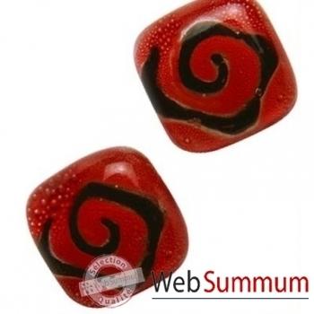 BcommeB-Boucles d'oreilles clous, tige en argent-bobc3w
