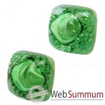 BcommeB-Boucles d'oreilles clous, tige en argent-bobc16w