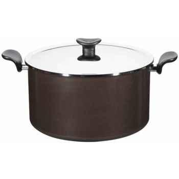Tefal marmite 30 cm + couvercle inox - enjoy 4023