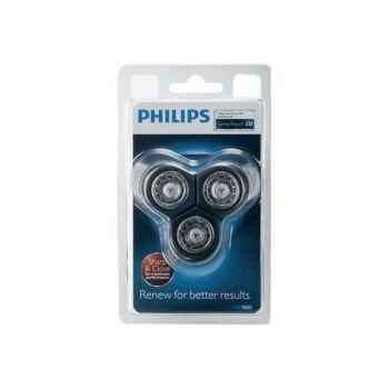 Philips lot de 3 têtes de rasage senso touch 3d + support 4138