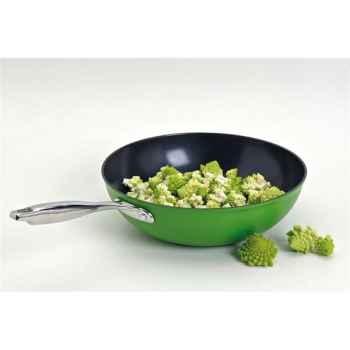 Aubecq poêle wok - new evergreen 4847