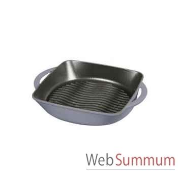 Chasseur gril 31 x 25 x 5 cm gris - carronde 4869
