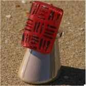 bijouxenverre bague avec anneau ajustable en plaque argent 20 microns 03bre