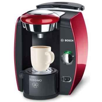 Bosch cafetière expresso rouge chromé - tassimo t42 5116