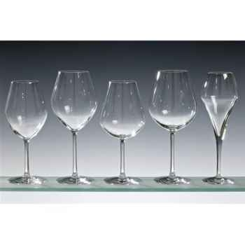 Chef & sommelier lot de 4 verres à vin blanc 41 cl - arom up oaky 5214
