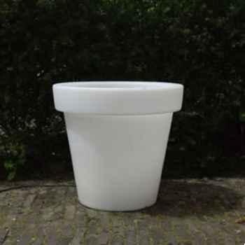 Pot fleur 90 cm Blanc