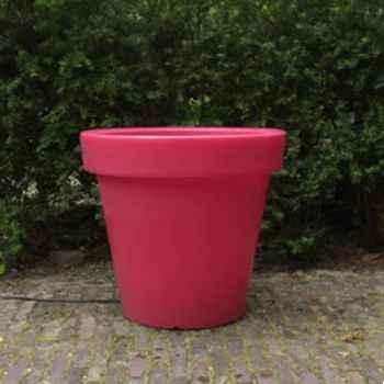 Pot fleur 90 cm Rouge