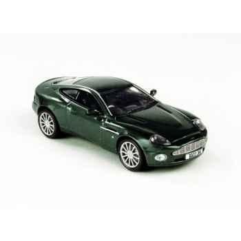 Aston martin v12 vanquish vert sombre Norev 270511