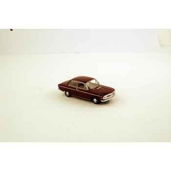 Audi 72 2 portes granadarot 1965 Norev 830021