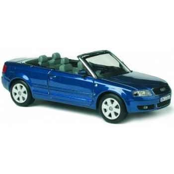 Audi a4 cabriolet caribicblau Norev 830001