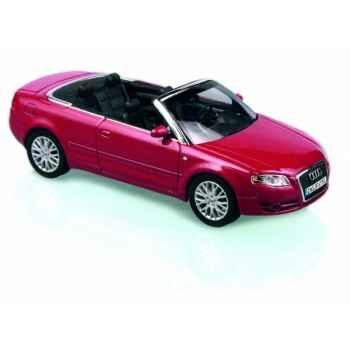 Audi a4 cabriolet rouge grenat métallisé Norev 830005