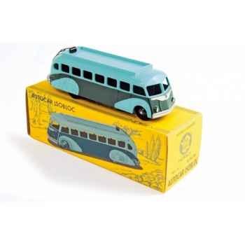 Autocar isobloc vert clair et vert foncé  Norev C80500
