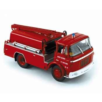 Berliet gak citerne incendie 1960 Norev 690004