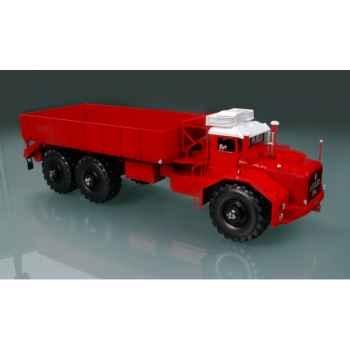 Berliet t100 n°1 long rouge Norev 690030