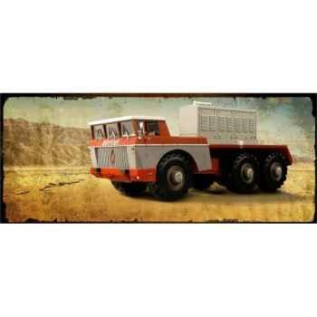 Berliet t100 n°4 1959 rouge et gris Norev 690032